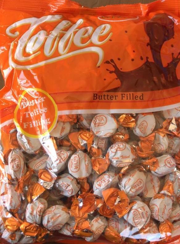قیمت شکلات های گیوا Giva Elcair toffee