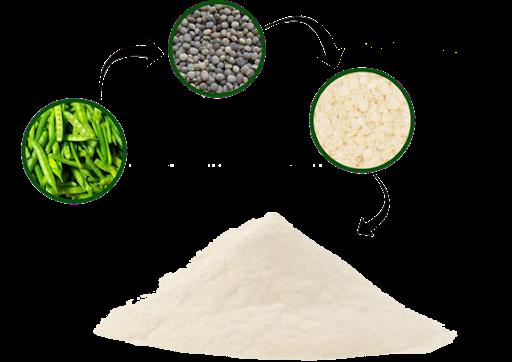 کاربرد گوارگام در صنایع غذایی (Guar Gum)