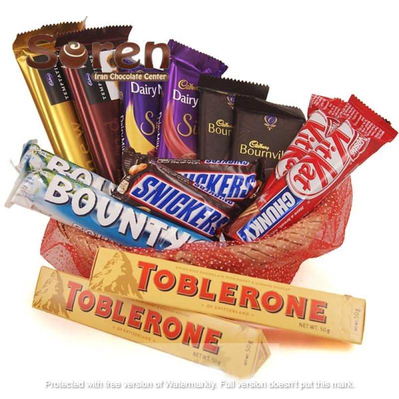 پخش عمده شکلات خارجی