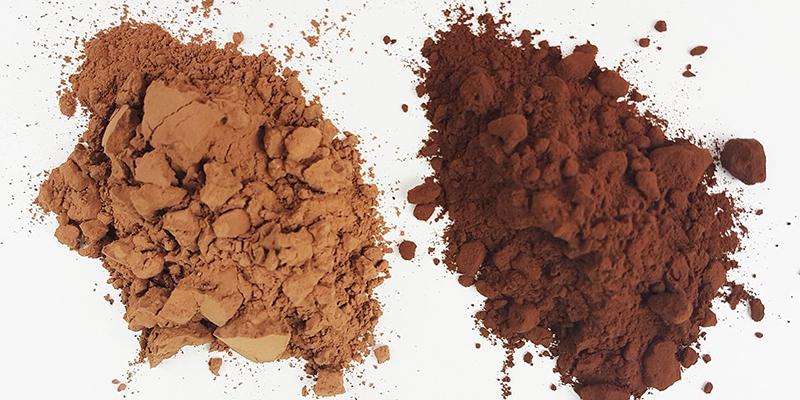 پودر کاکائو تیره بهتر است یا روشن